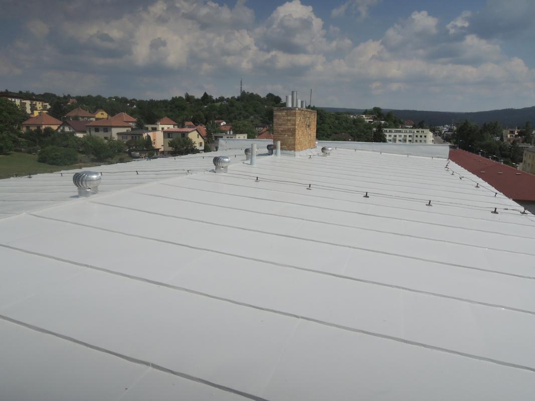 Nátěry střech